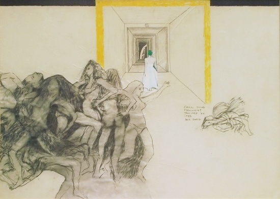 'Memories', a drawing by Ian Cole, the author's father, 1986.
